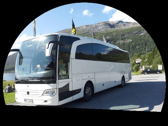 bus w górach trans bus